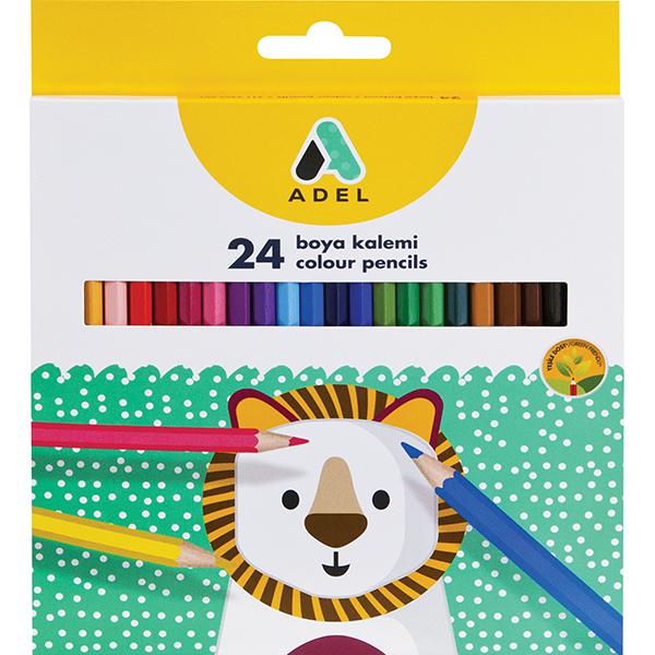 Adel Colour Pencils - 24