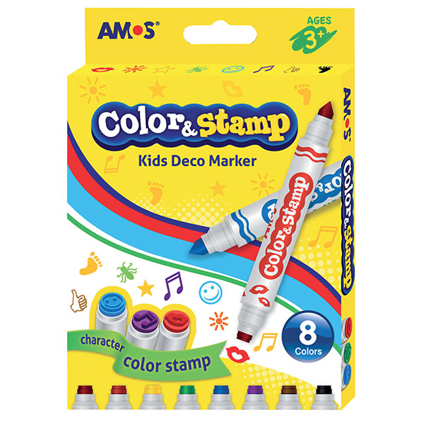 Amos Color And Stamp Markers